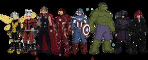 Avengers Redesign (2018)
