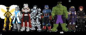 Avengers Redesign (2019)