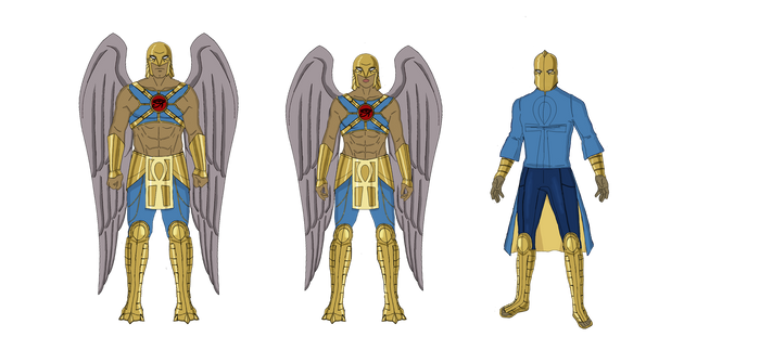 Hawkfamily and Doctor Fate - Unfinished DC Project
