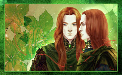 Twins by LeoHatsuki