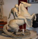 Athenian horsetrainer clay