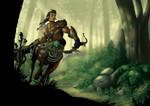 Centaur Guardian of the Forest
