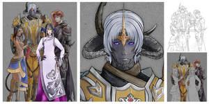 Final Fantasy XIV Quatuor