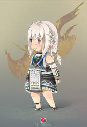 Final Fantasy XIV : Luh the cute Lalafell by Milee-Design