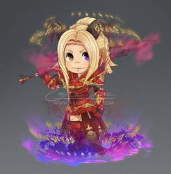 Final Fantasy XIV commission: Chibi Hyur