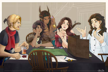 Dungeons and Dragons night
