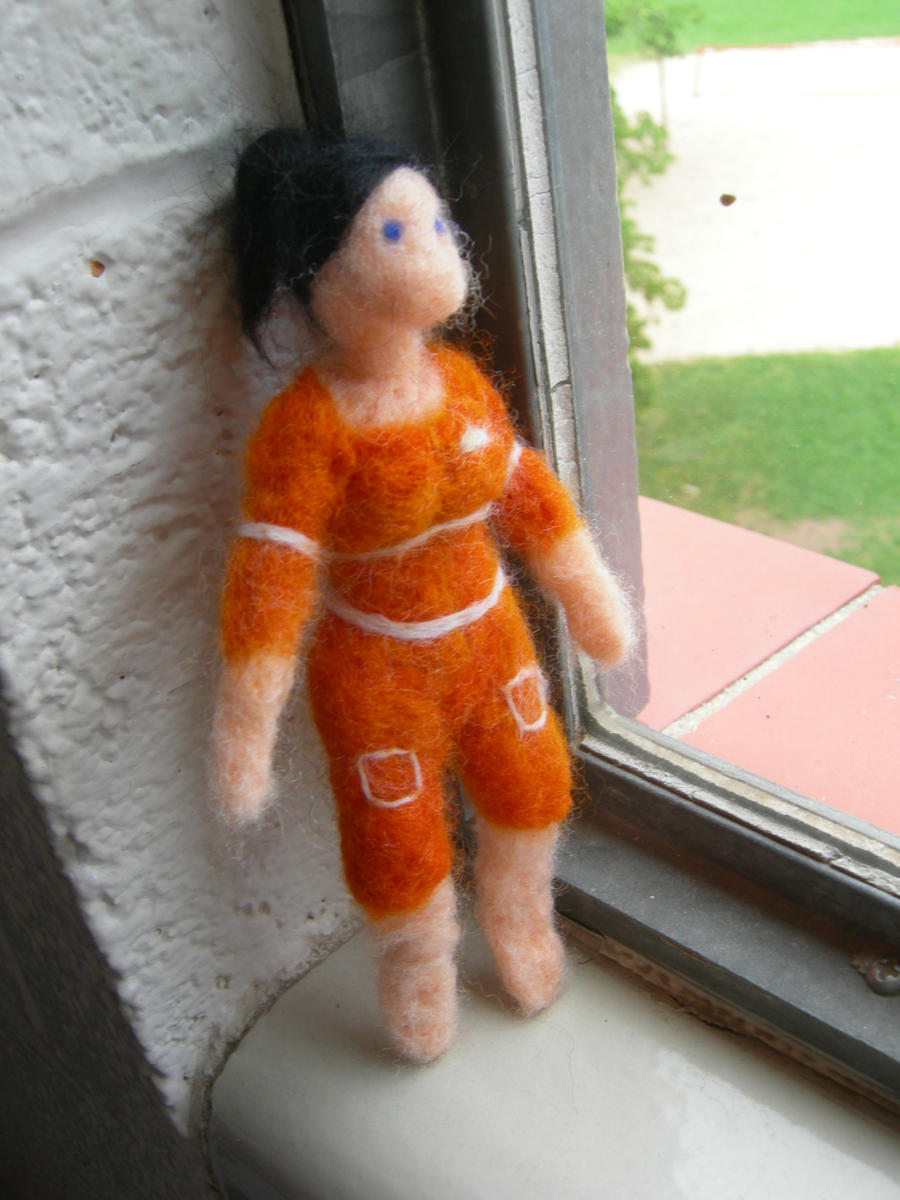 Felted Chell by chickenpede
