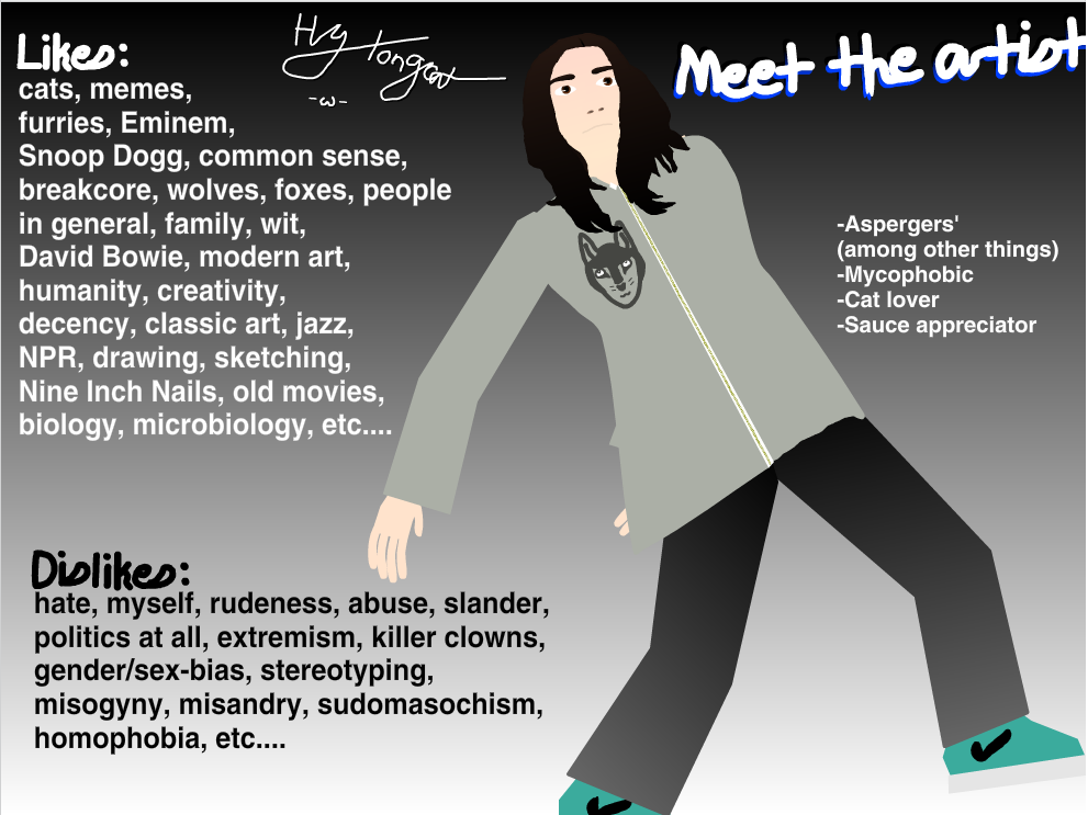meet the artist by hy-longcat