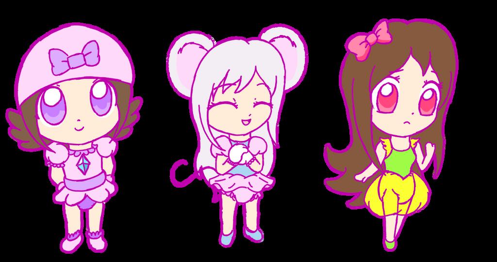 Chibis (beta) by PrincessPolly63