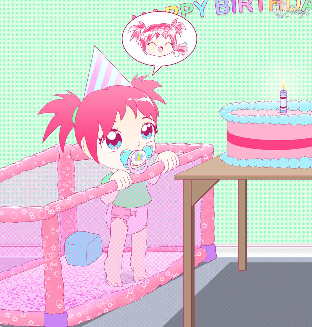GA Stwabewwy Cake by PrincessPolly63