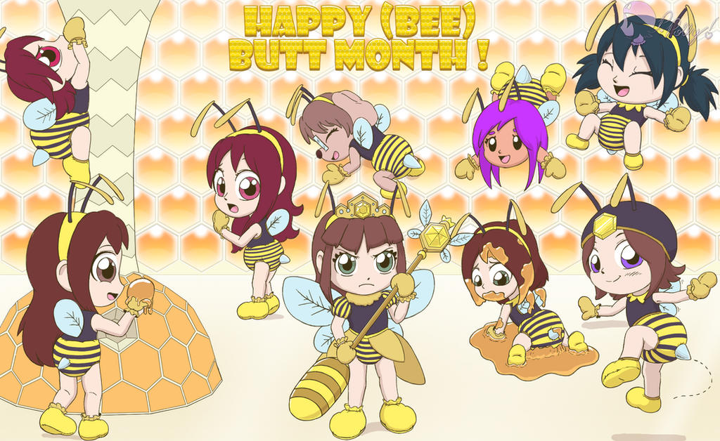 Bee-Month by PrincessPolly63