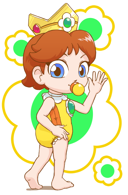 Swimsuit Baby Daisy by PrincessPolly63