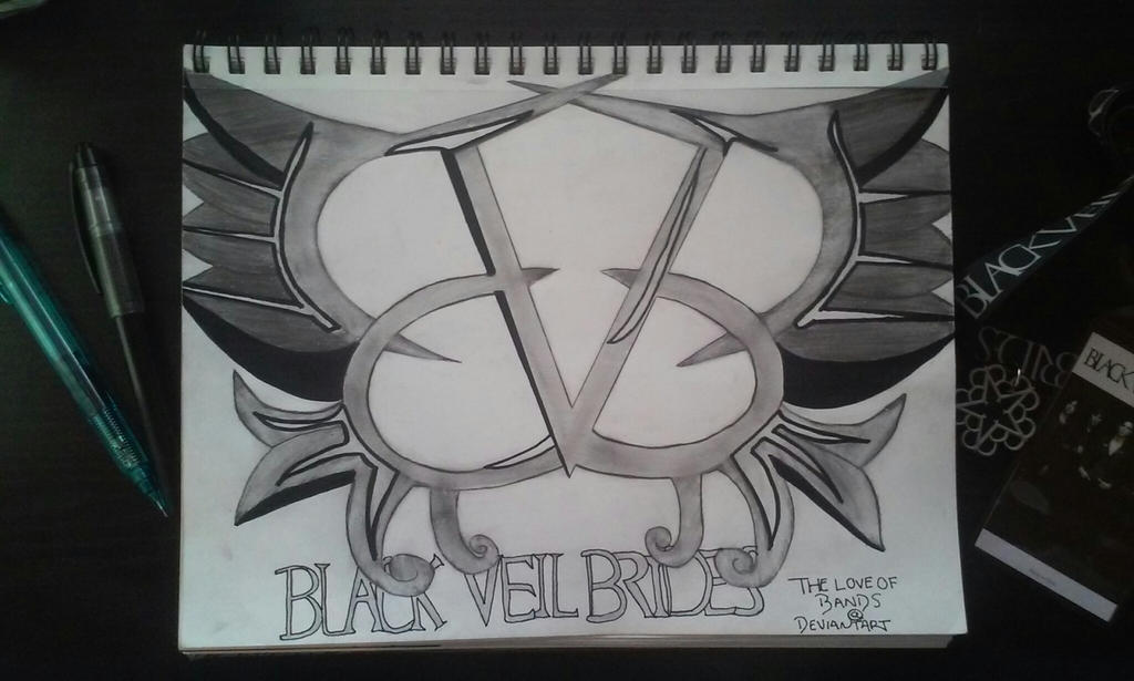 black veil brides logo by theloveofbands on deviantart