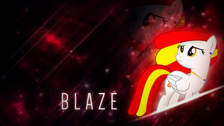 [MLP] [OC] [Art Trade] Blaze by BrainlessPoop
