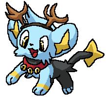 Shinx the Blue Haired Reindeer by OtakuyaDigidestined