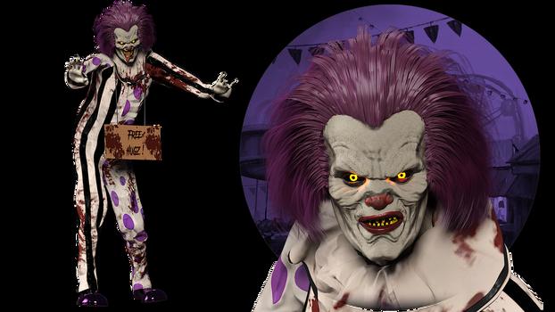 [DAZ Studio] Hugz, The Clown