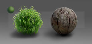 Material Studies: Grass and Wood