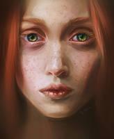 Portrait Practice 14 by sweptaway91