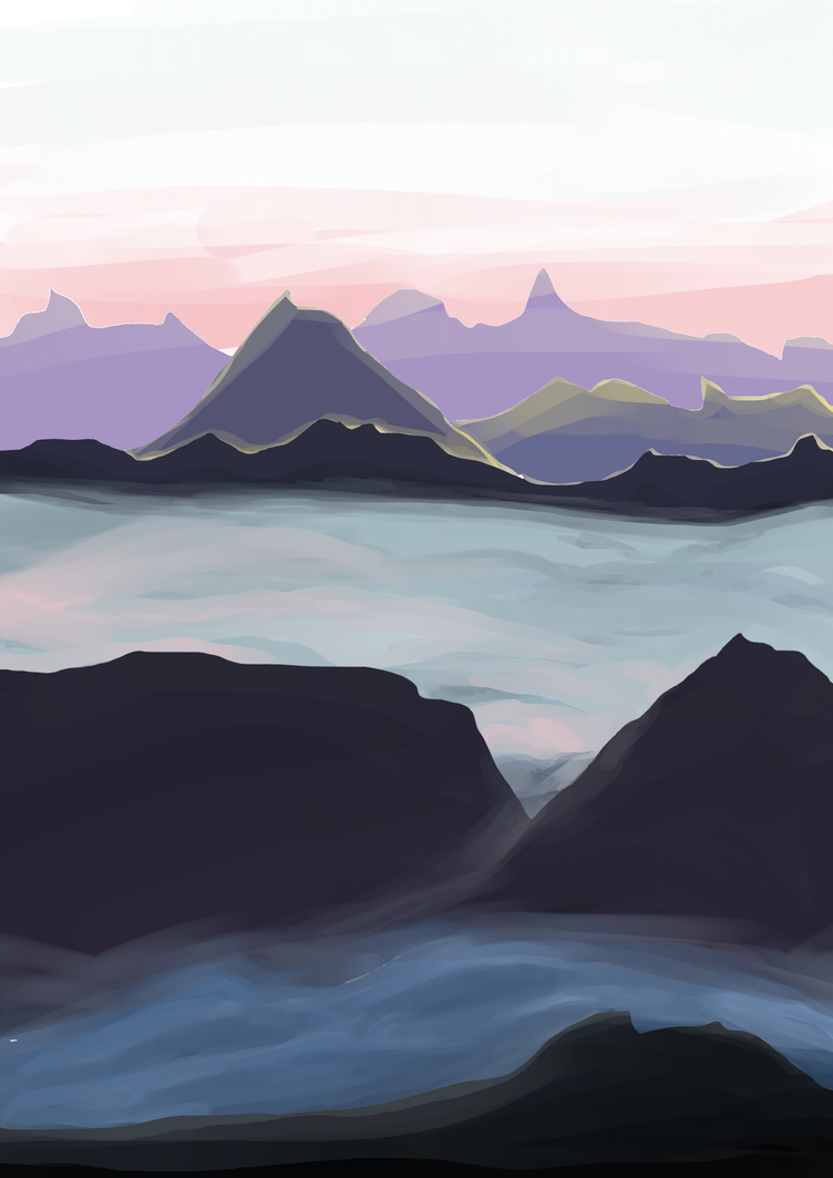 Mountains by chronoGRAY