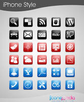 120 Free Icons iPhone Style by iconspedia