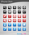 120 Free Icons iPhone Style