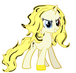 MLP OC: Golden Voice by LovelyLeoKika
