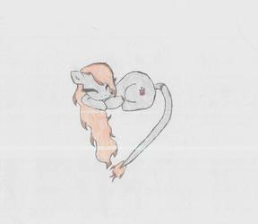 Princess Pyro Heart Shape by LovelyLeoKika