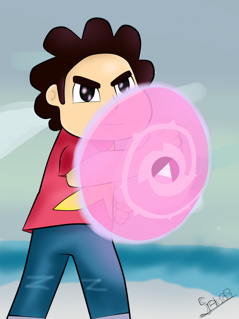 Steven Universe-Rose Shield by Seb-LK-585