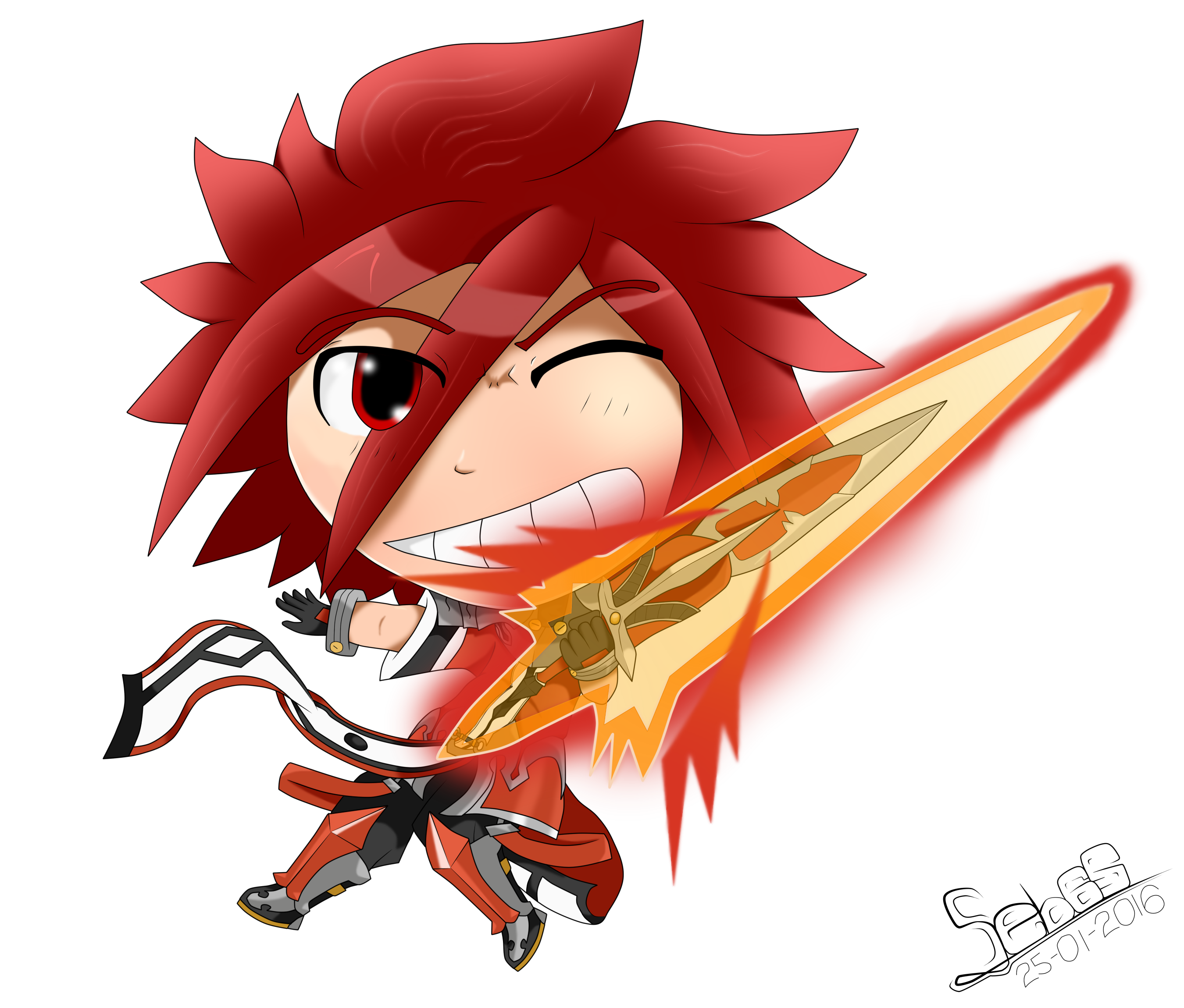 LordKnight-Chibi Armaggedon Blade by Seb-LK-585