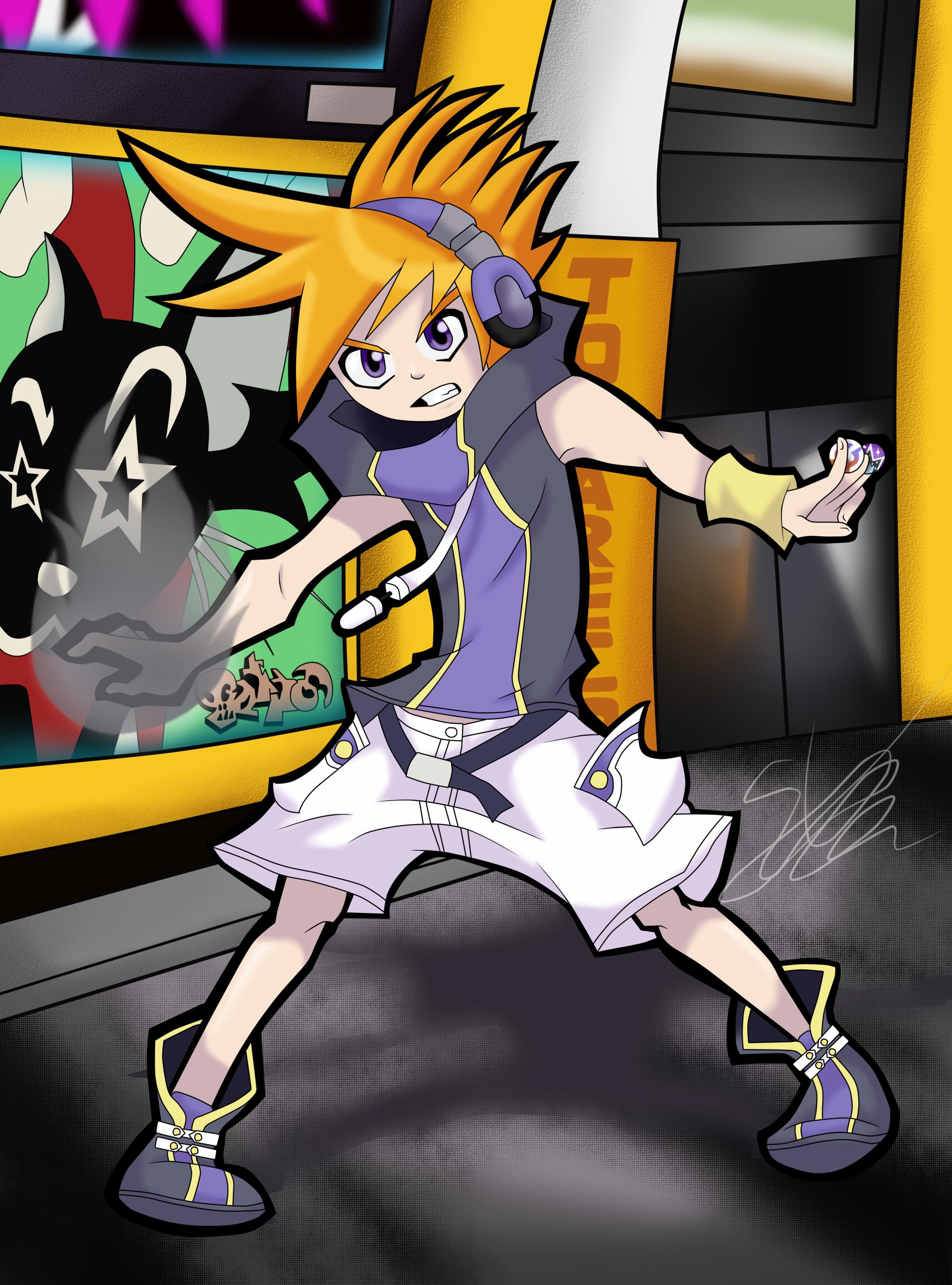 [GAME ART] Neku Sakuraba TheWorldEndWithYou by Seb-LK-585