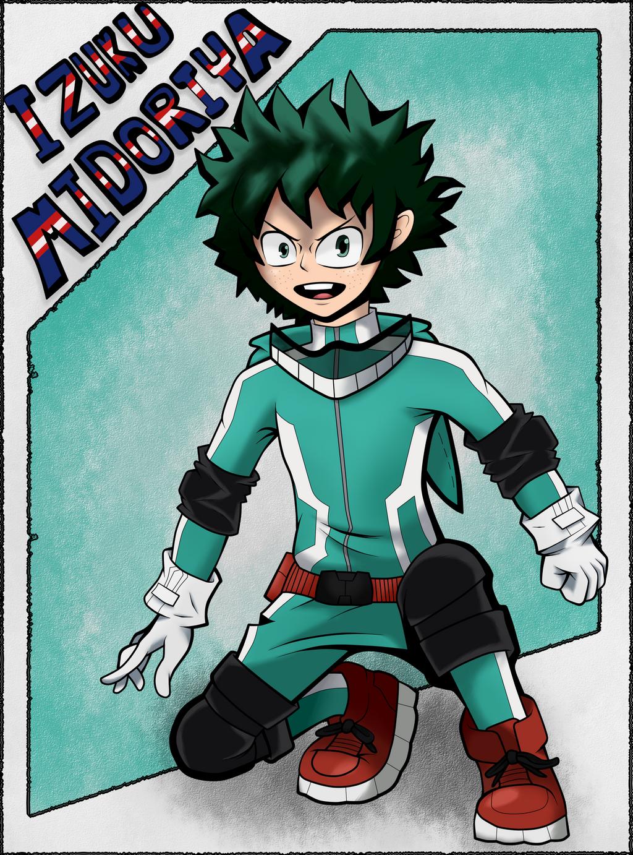 Izuku Boku No Hero Academia by Seb-LK-585