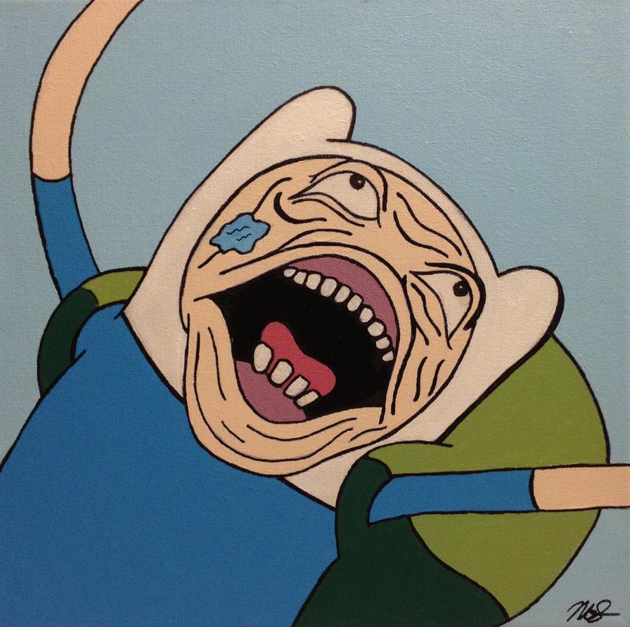 Ugly face finn by noahsturm on deviantart - Ugly face wallpaper ...