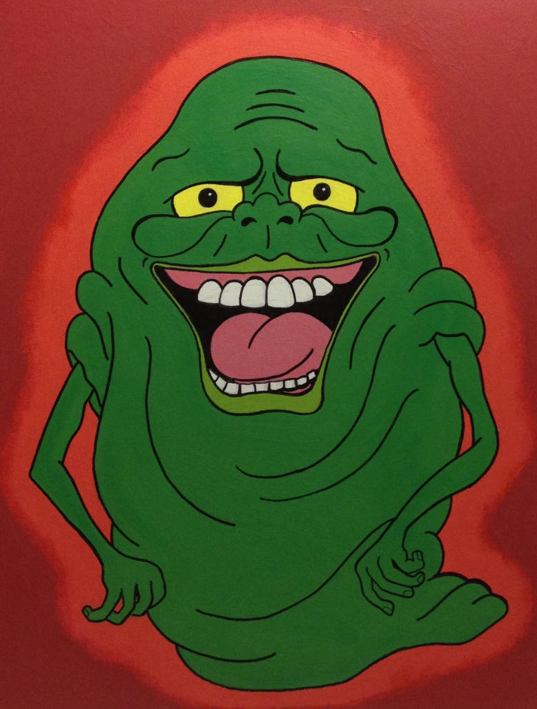 Cartoon Slimer By Noahsturm On Deviantart
