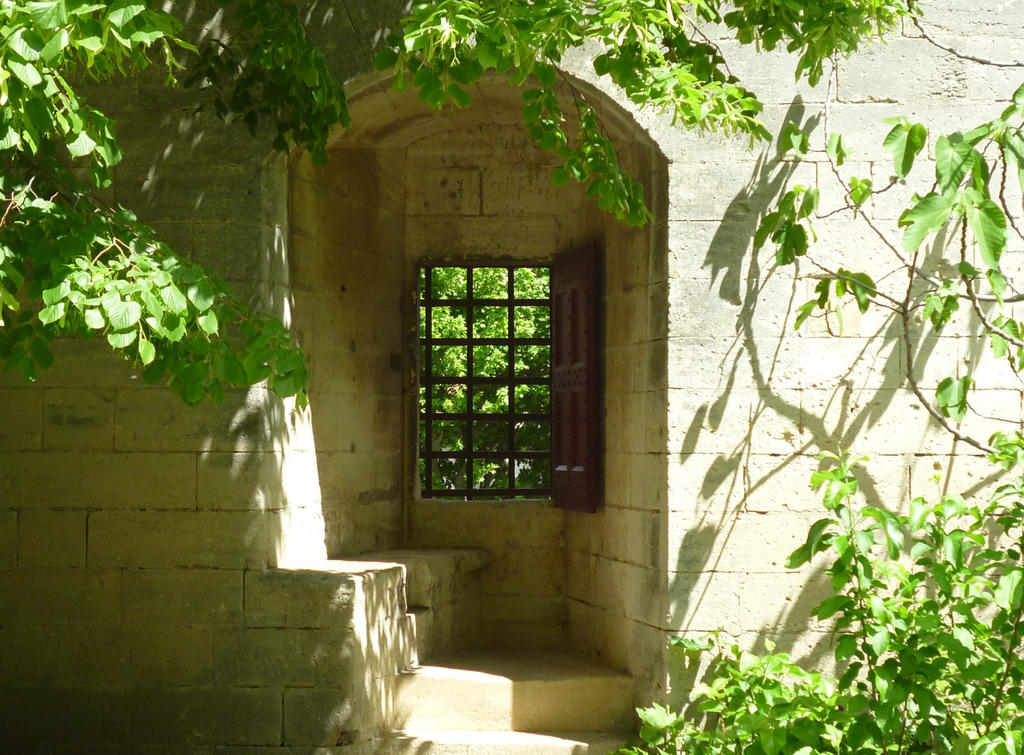 MEDIEVAL WINDOW MEDIEVAL BENCH by isabelle13280