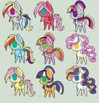 Random Shipping Ponies 2 .:CLOSED:.