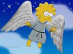 Winged Lisa at Night
