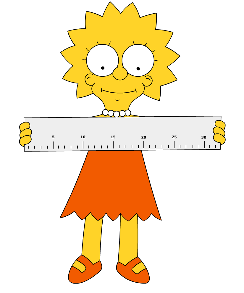 Lisa rules... With a ruler by Paddixx