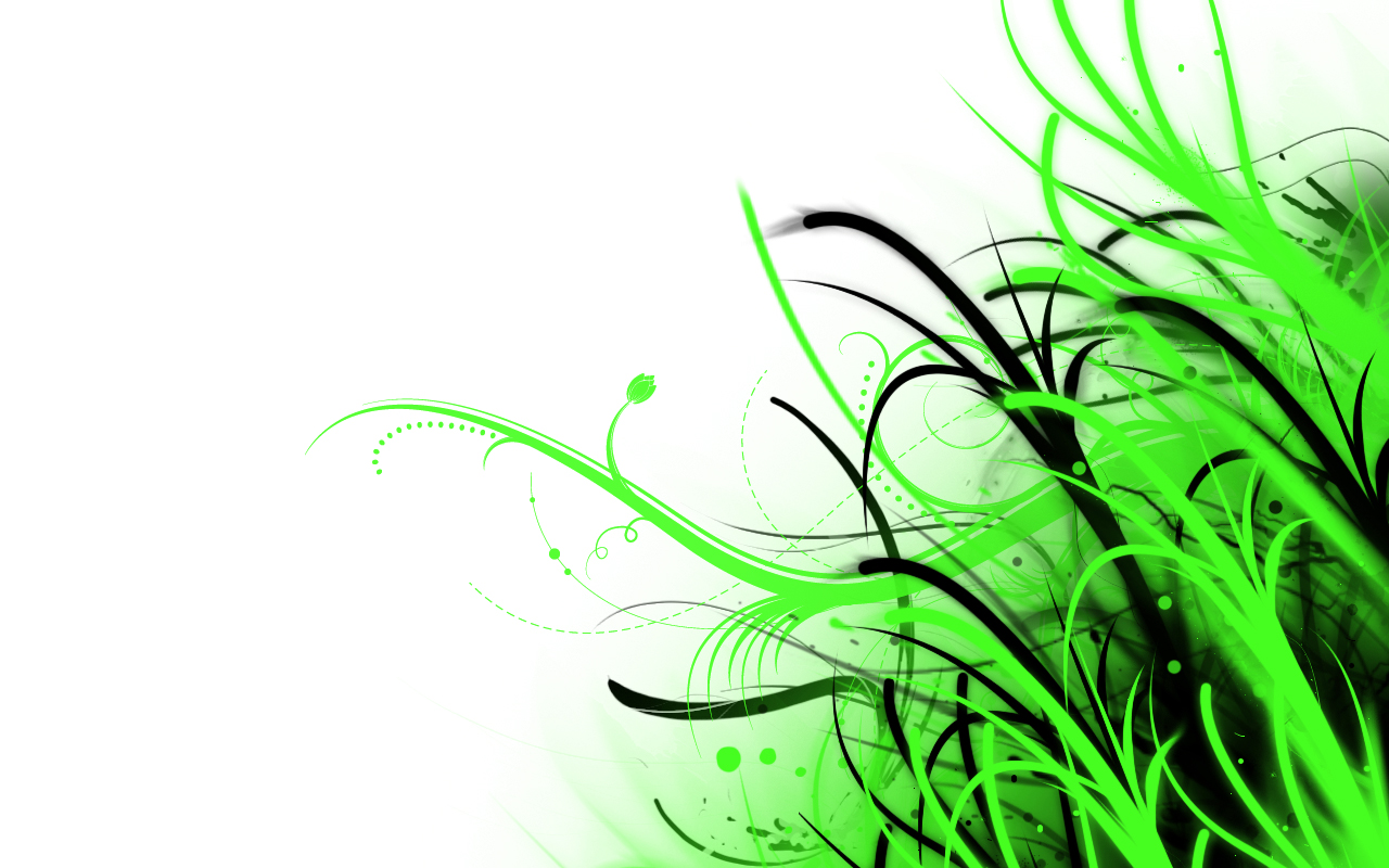 Abstract wallpaper green and white by phoenixrising23 on for Green and white wallpaper