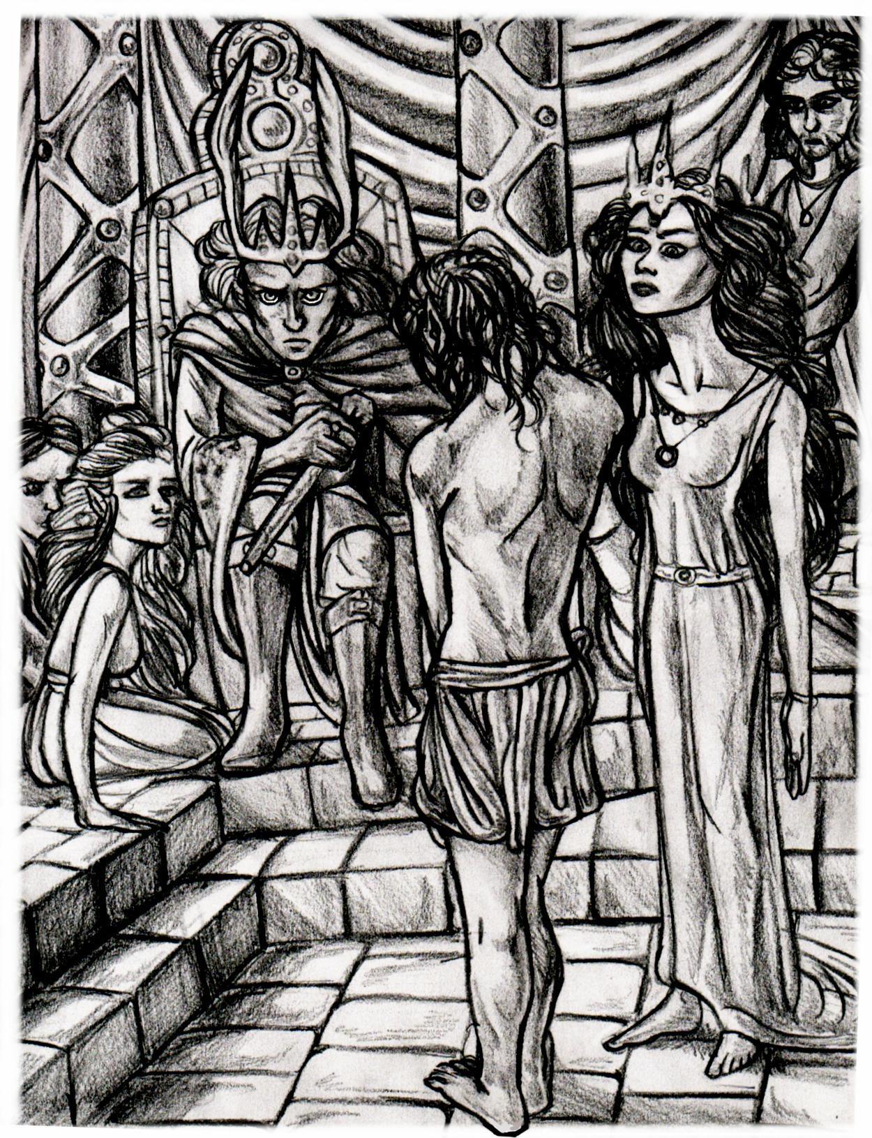 Melkor's Release by felegund