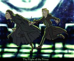 The Flight of the Prince by felegund
