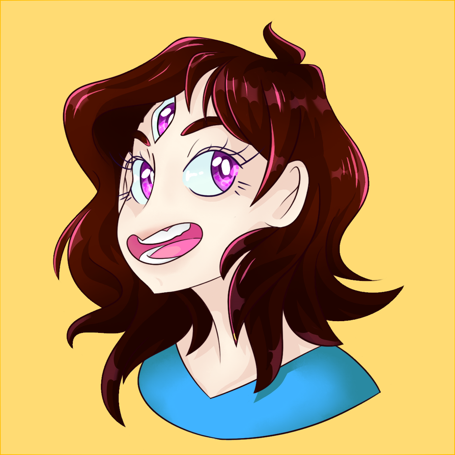 Mostro Headshot by Two-Mind-Monster
