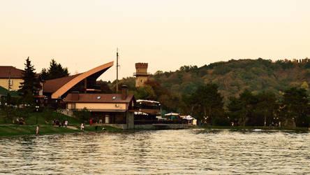 City lake.