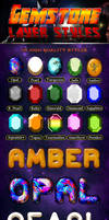 15 Gemstones Text Effects Styles