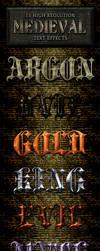 Medieval text effects styles volume 5 by ArifulKabir