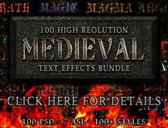 Medieval Text Effects Bundle by ArifulKabir