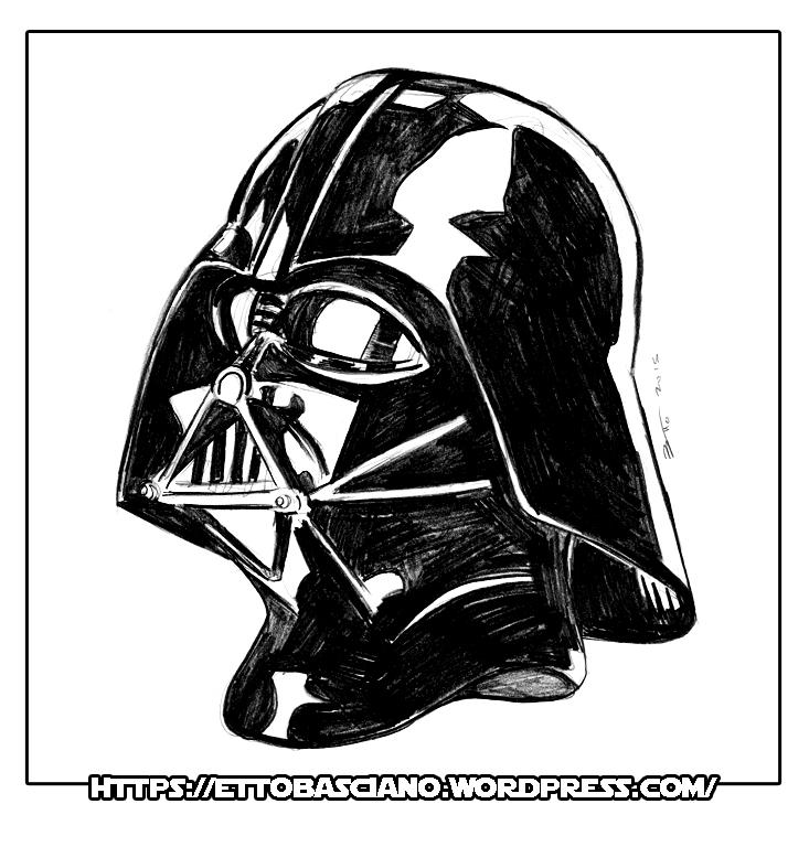 Graphite sketch Darth Vader by EttoBascianoWorks on DeviantArt