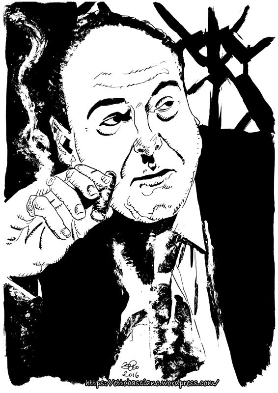 tony soprano james gandolfini by ettobascianoworks on