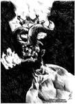 Hellboy - Anung Un Rama (after Duncan Fegredo)