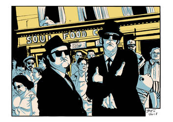 Blues Brothers by EttoBascianoWorks