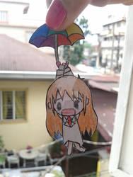 Hakase and umbrella